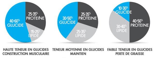 macros de base pour la perte de graisse