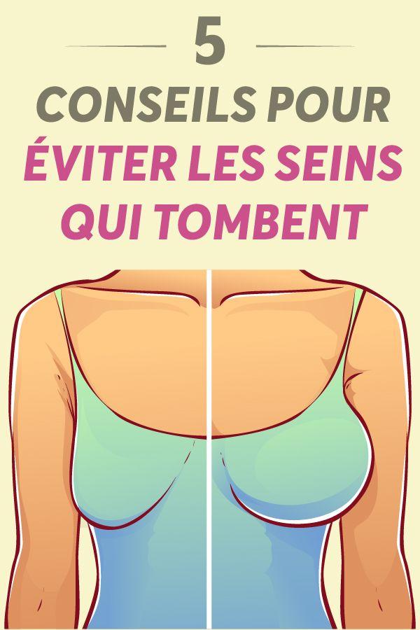 perte de poids affaissement des seins