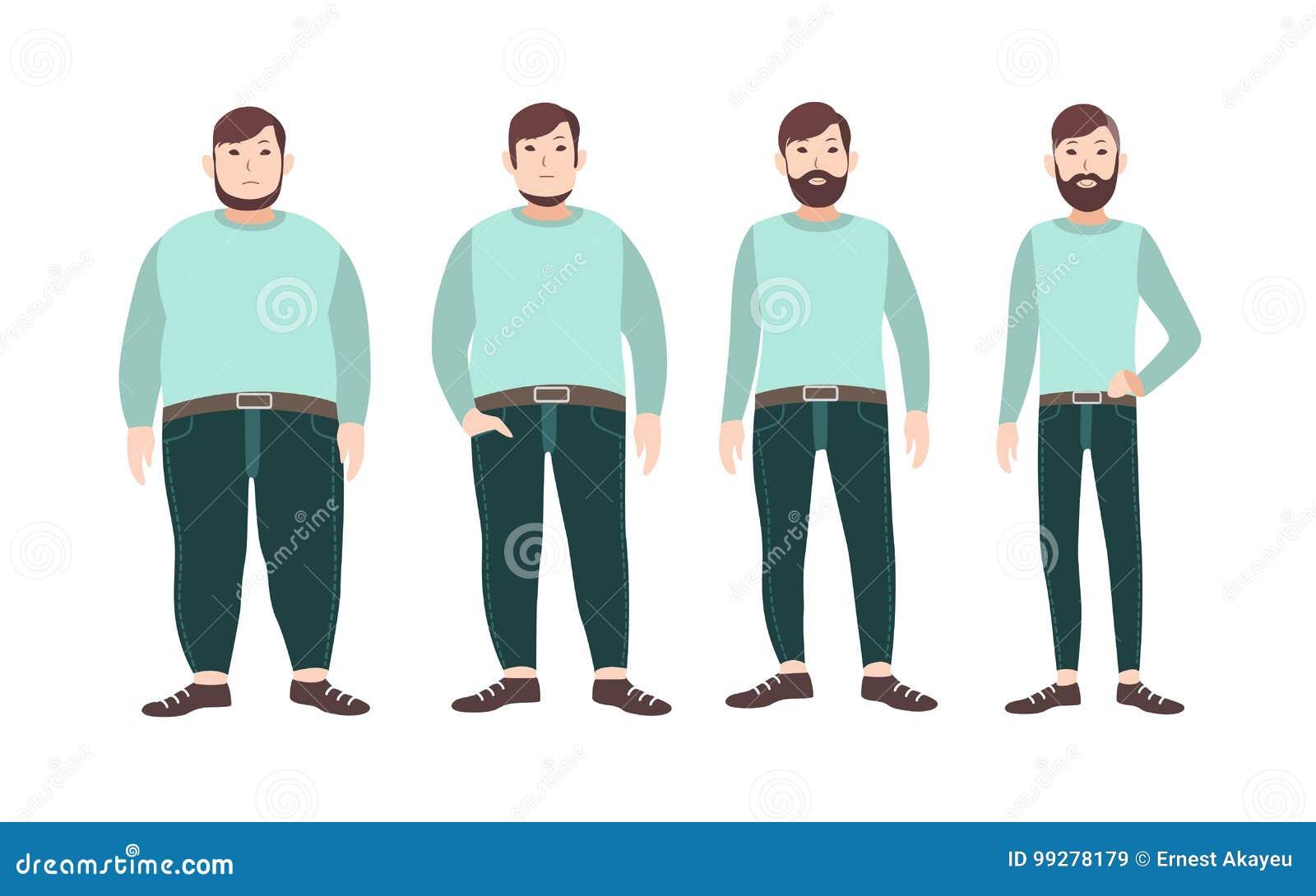 visualisation de la perte de poids