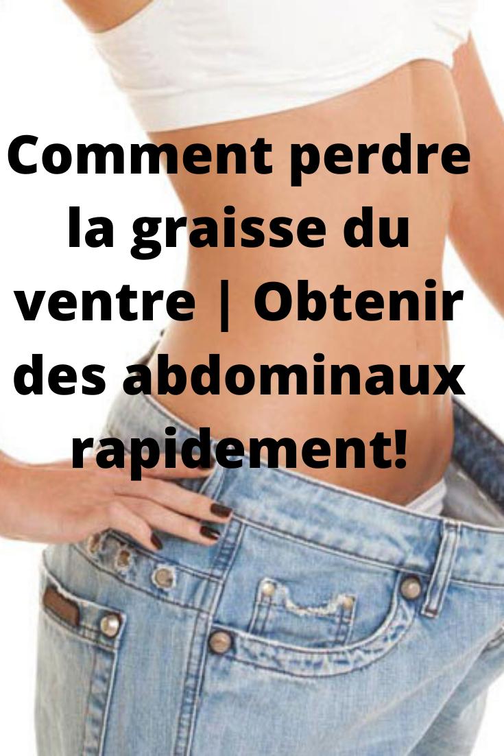 Perdre sa graisse abdominale, 6 astuces redoutablement efficaces ! | Sport equipements