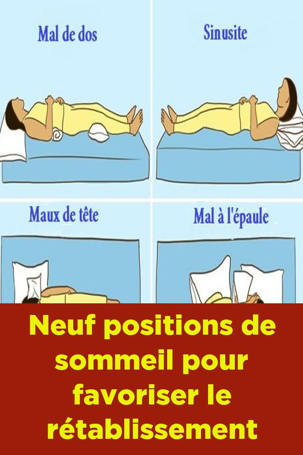 positions de sommeil pour perdre la graisse du ventre