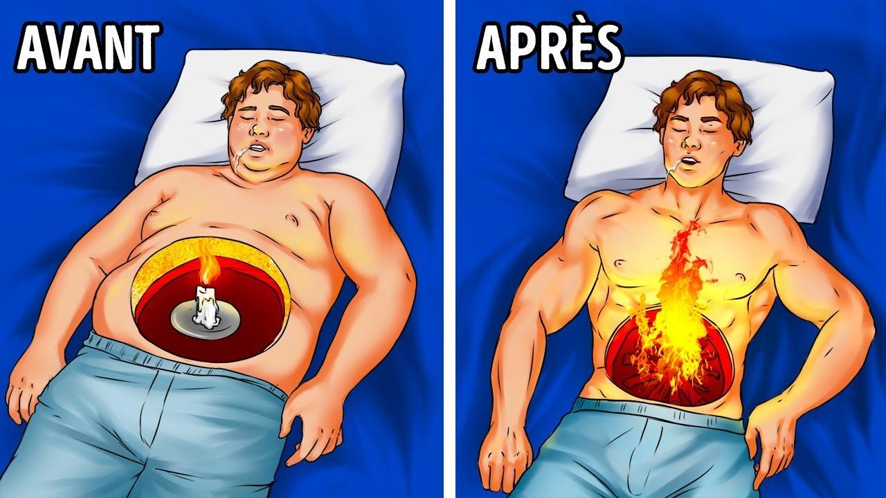 les graisses brûlent-elles pendant le sommeil