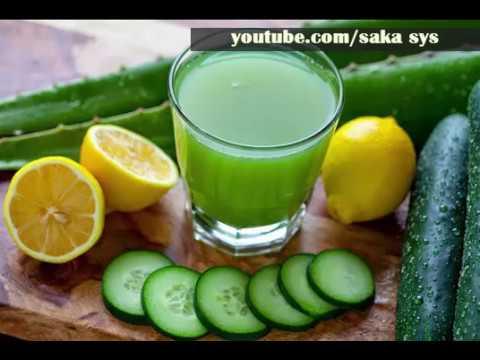 boisson au concombre brûlant les graisses