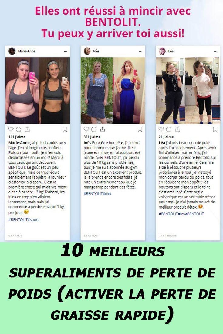 comment perdre du poids en 10 jours