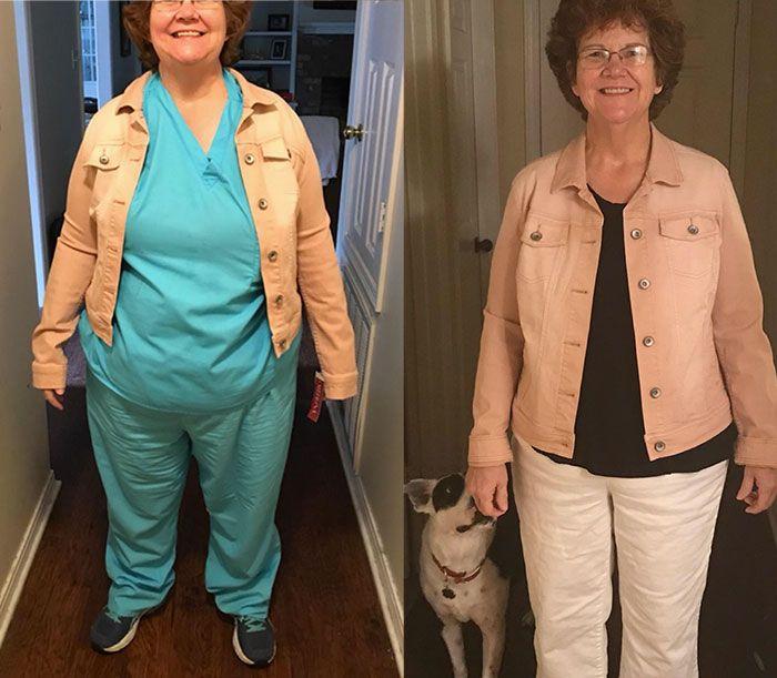 étudiant perd du poids sur les applications de perte de poids