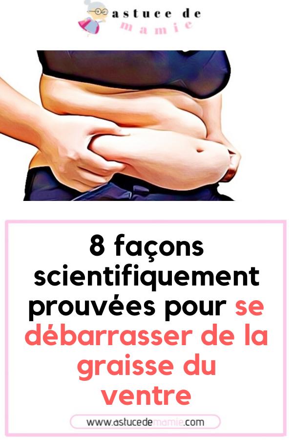 8 façons de brûler les graisses