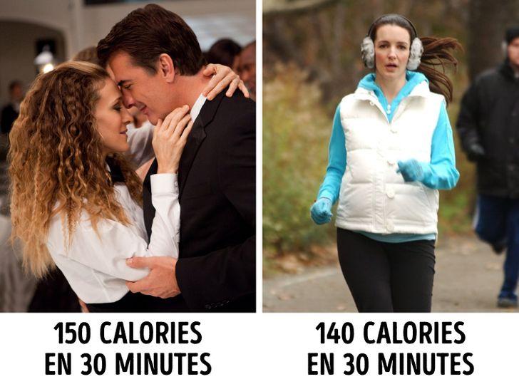 Embrasser aide-t-il à perdre du poids