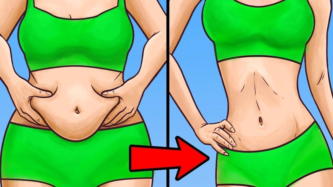 perdre la graisse du ventre pendant