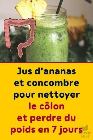 boisson de concombre de perte de poids brûler la pile de graisse