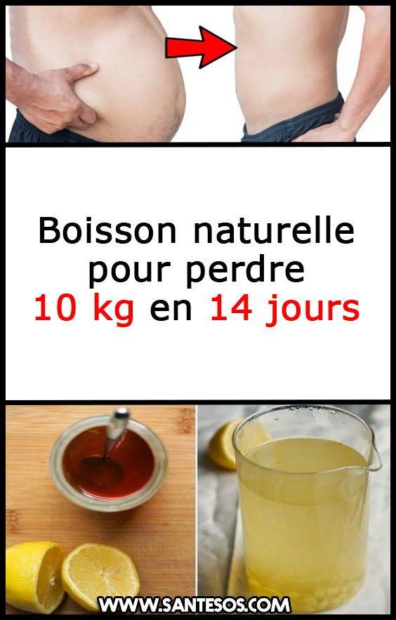 boisson minceur naturelle