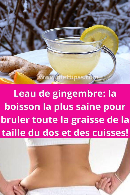 boissons saines pour aider à perdre du poids