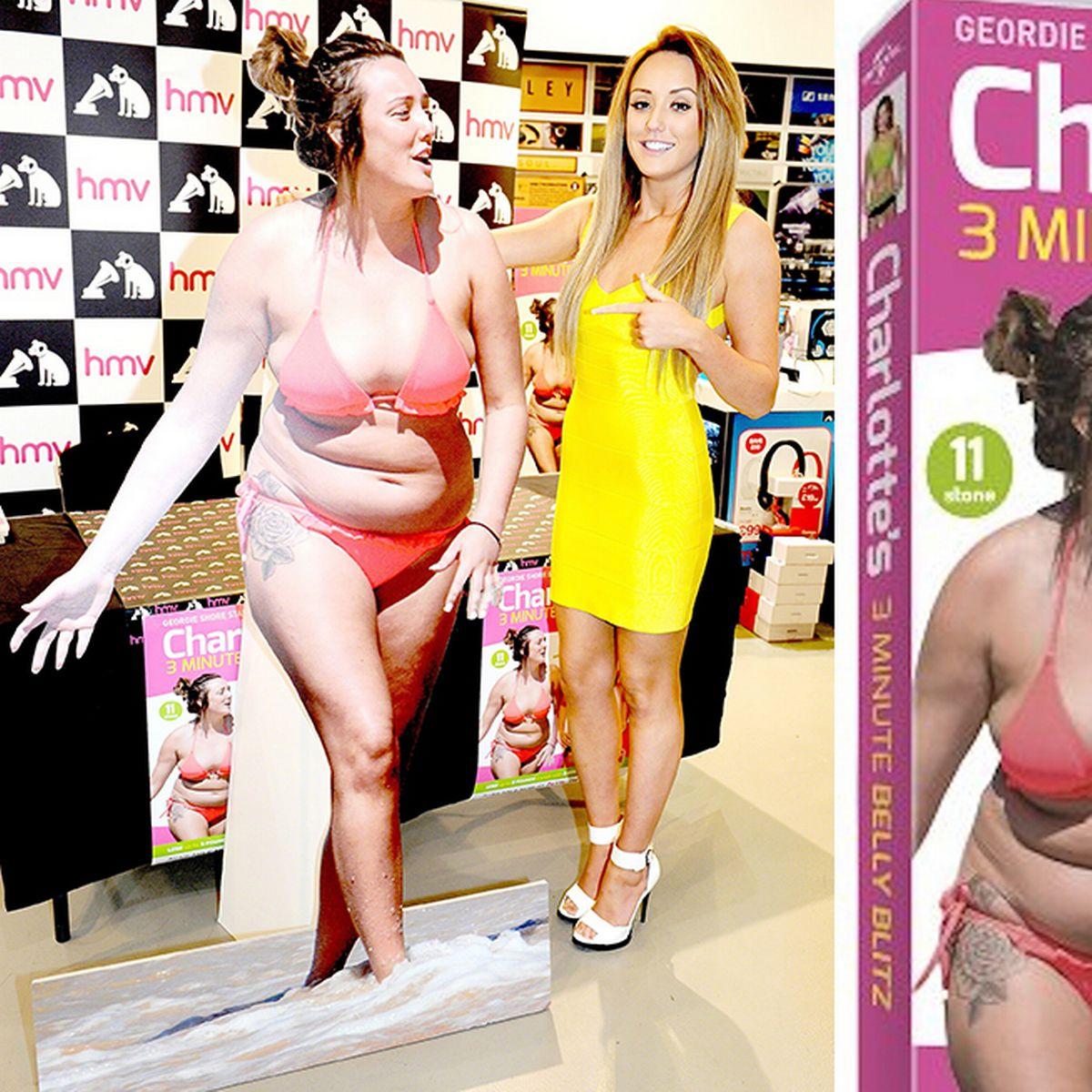 charlotte geordie shore dvd de perte de poids