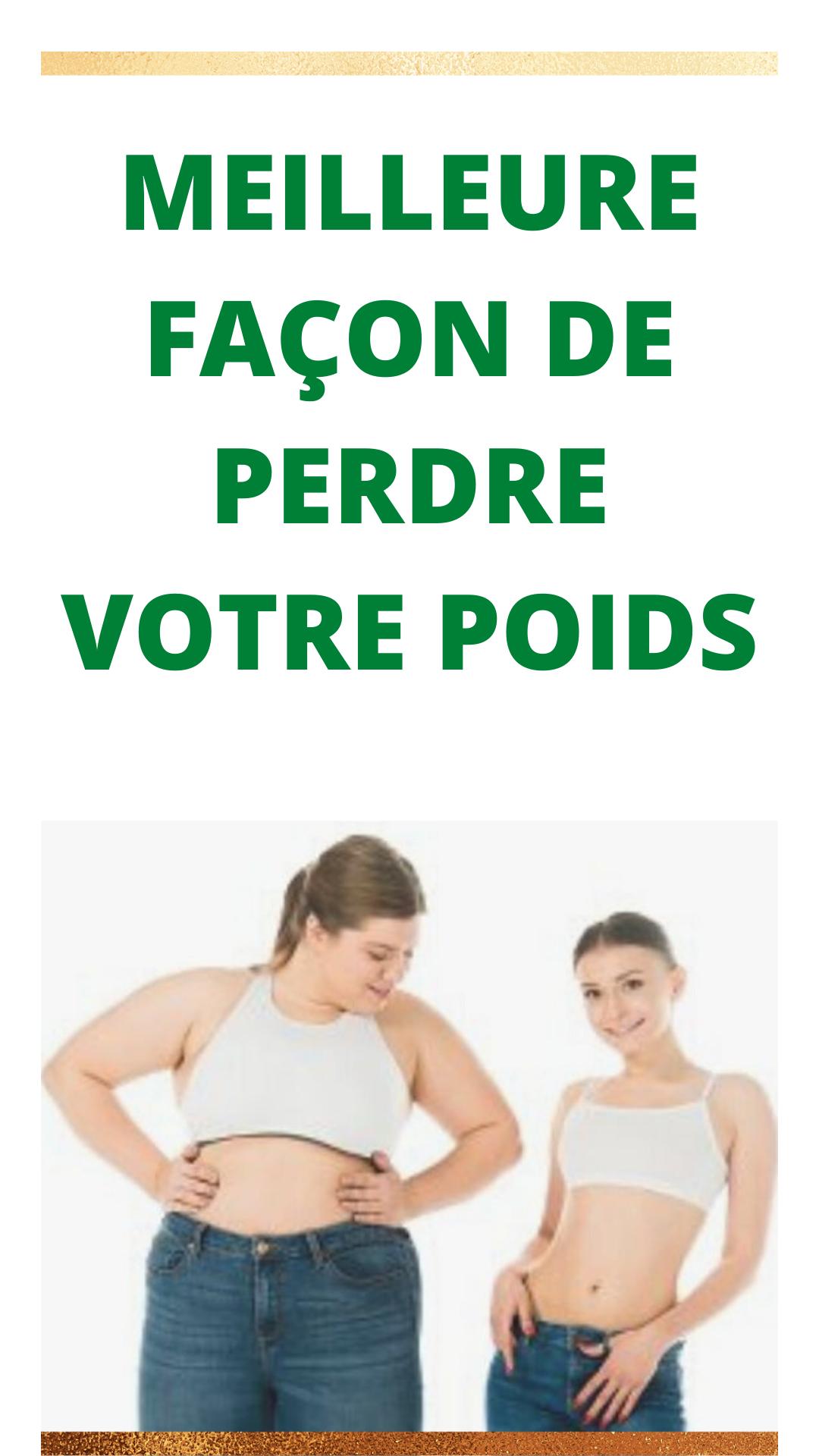 meilleure façon de perdre du gras à la maison perte de graisse maux de dos