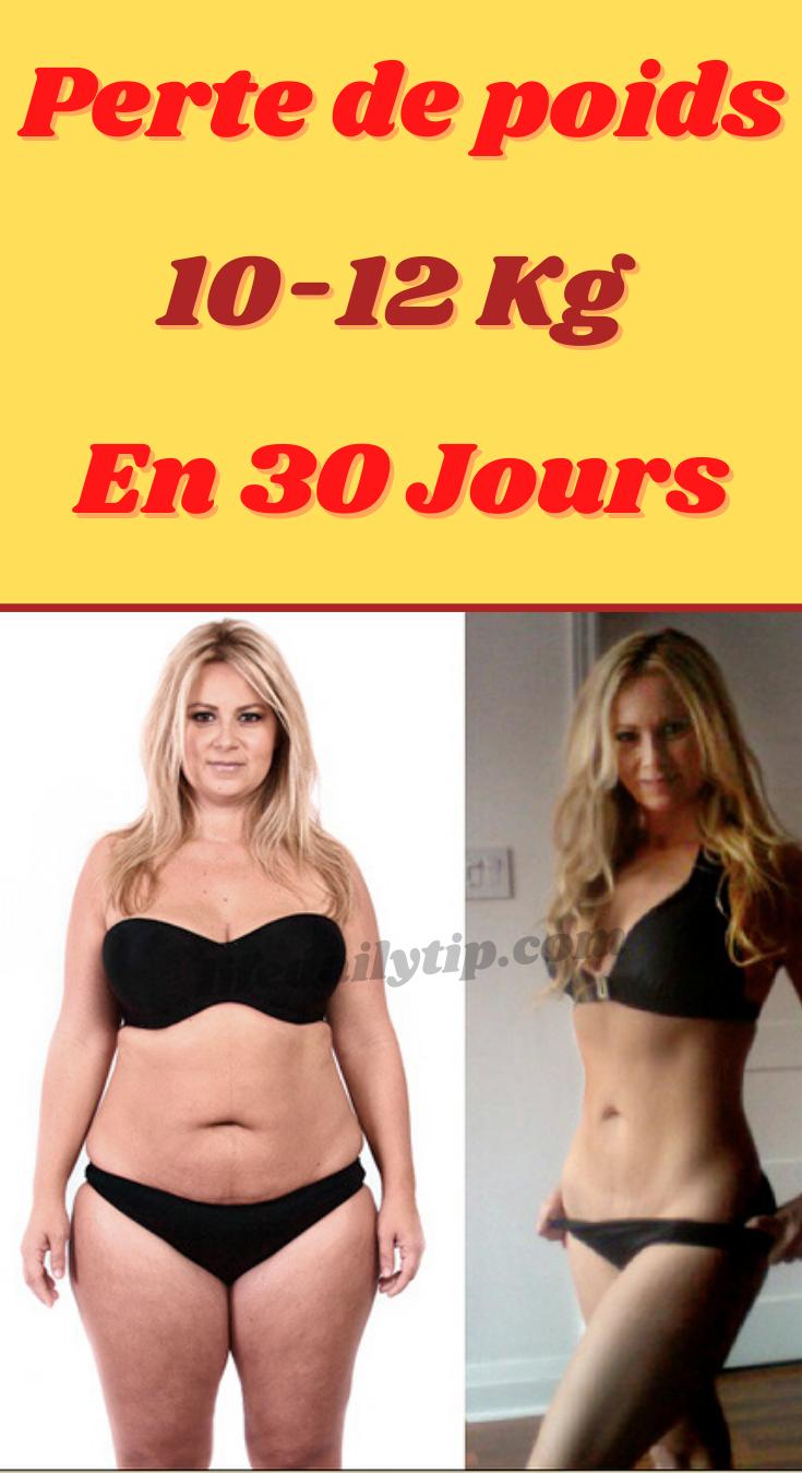 comment perdre du poids en 24 jours