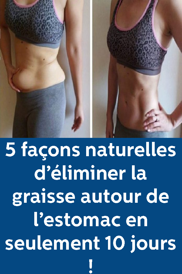 comment perdre de la graisse autour du bas du ventre