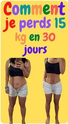 je perds du poids en 30 jours