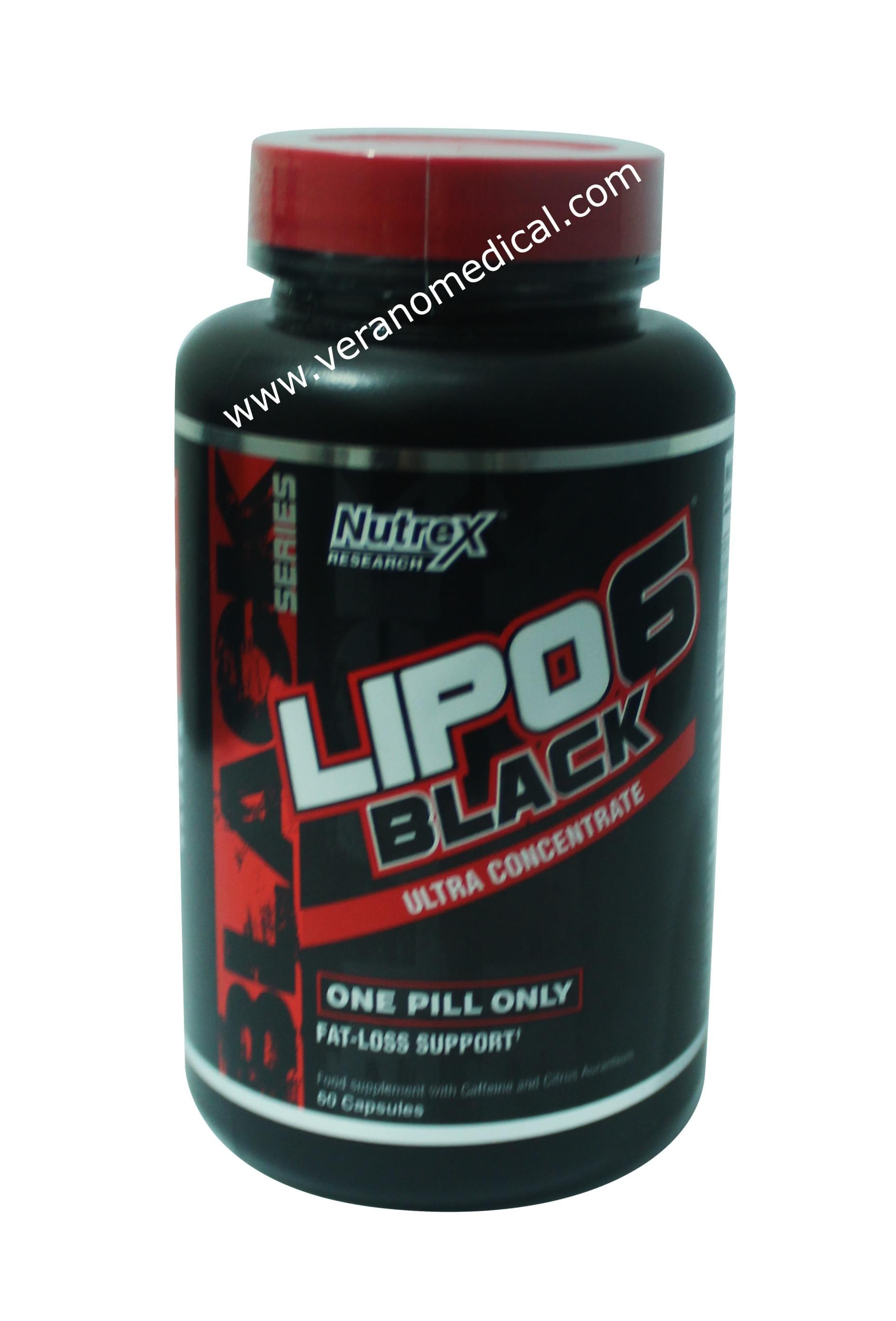 LIPO - 6 Black - 120 capsules