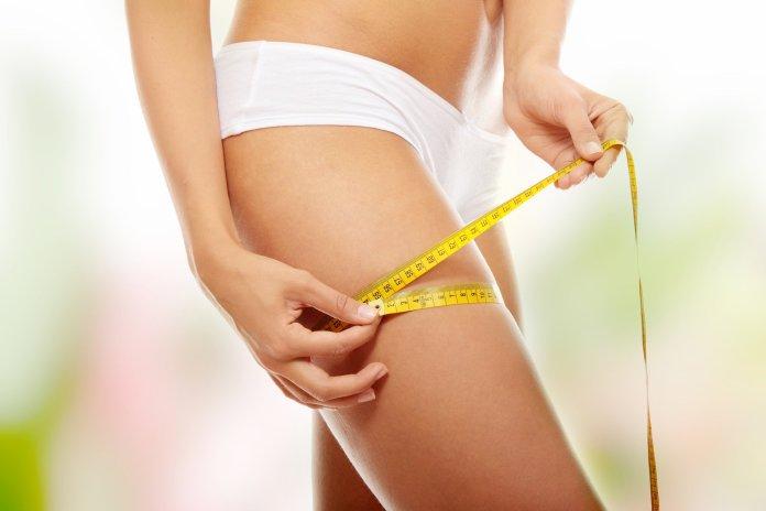 pourcentage de perte de poids par rapport aux kilos perdus