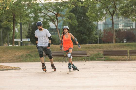 patinage à roulettes perte de poids avant et après moyen facile de perdre la graisse du haut du corps