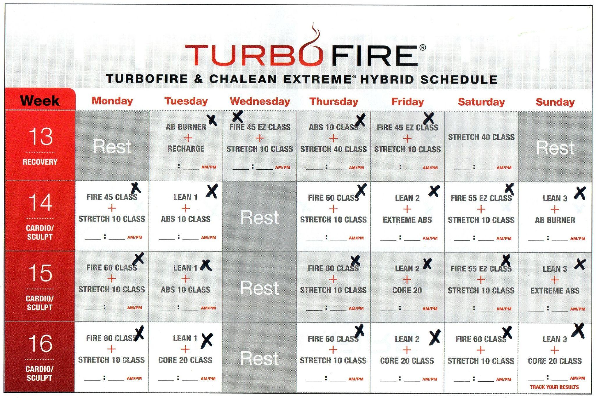 perdre du poids avec turbofire