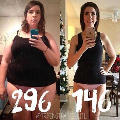 perte de poids à 50 ans avant et après