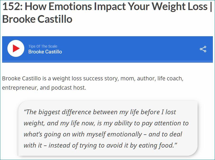 (Cesser d') Eviter ses émotions grâce à la nourriture