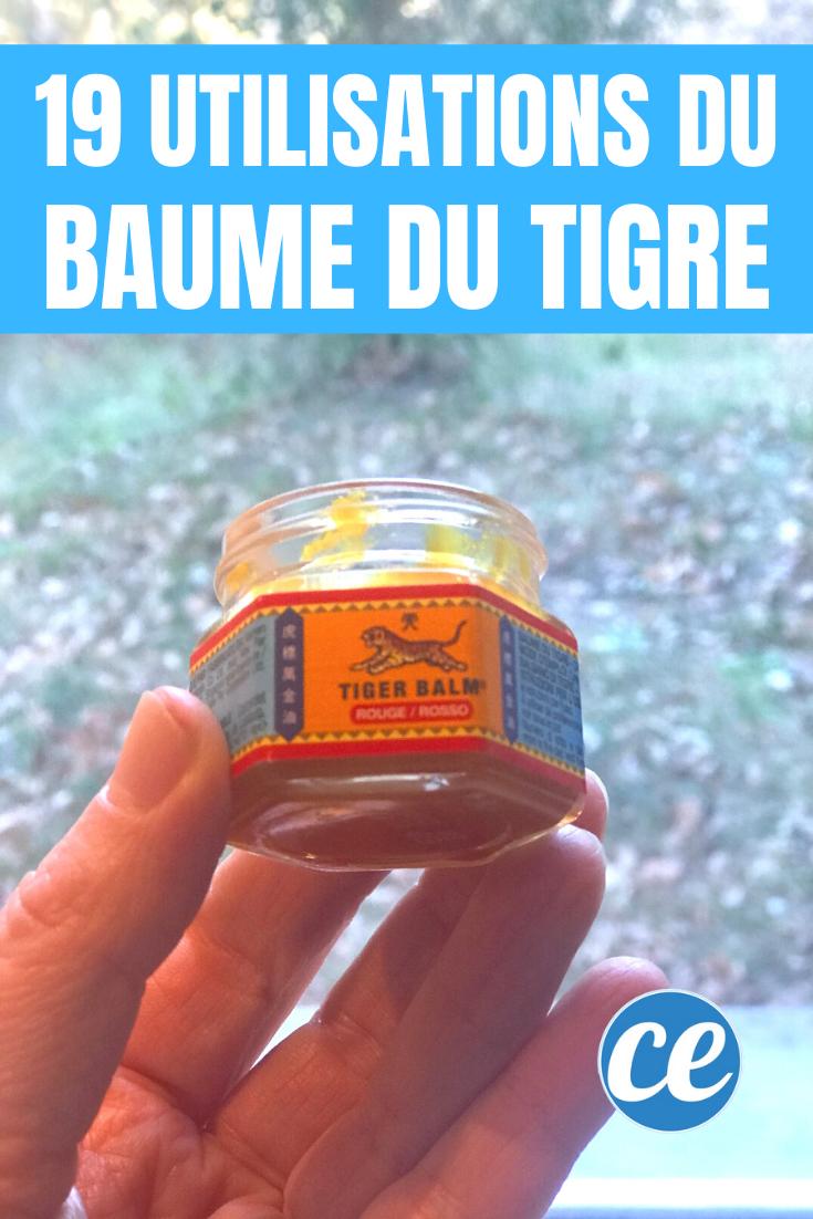 18 usages insoupçonnés du baume du tigre