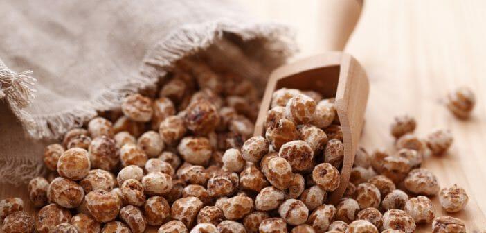 perte de poids de farine de souchet
