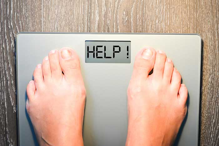 raisons de la perte de poids chez les tout-petits