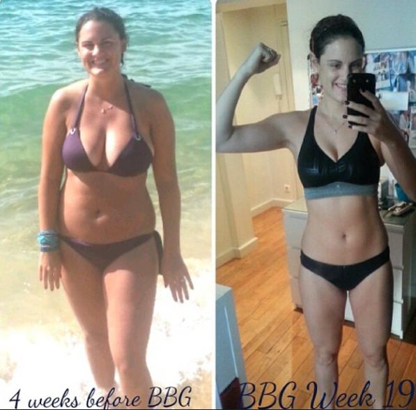 Avant/après Bikini Body Challenge : les 35 transformations physiques les plus incroyables