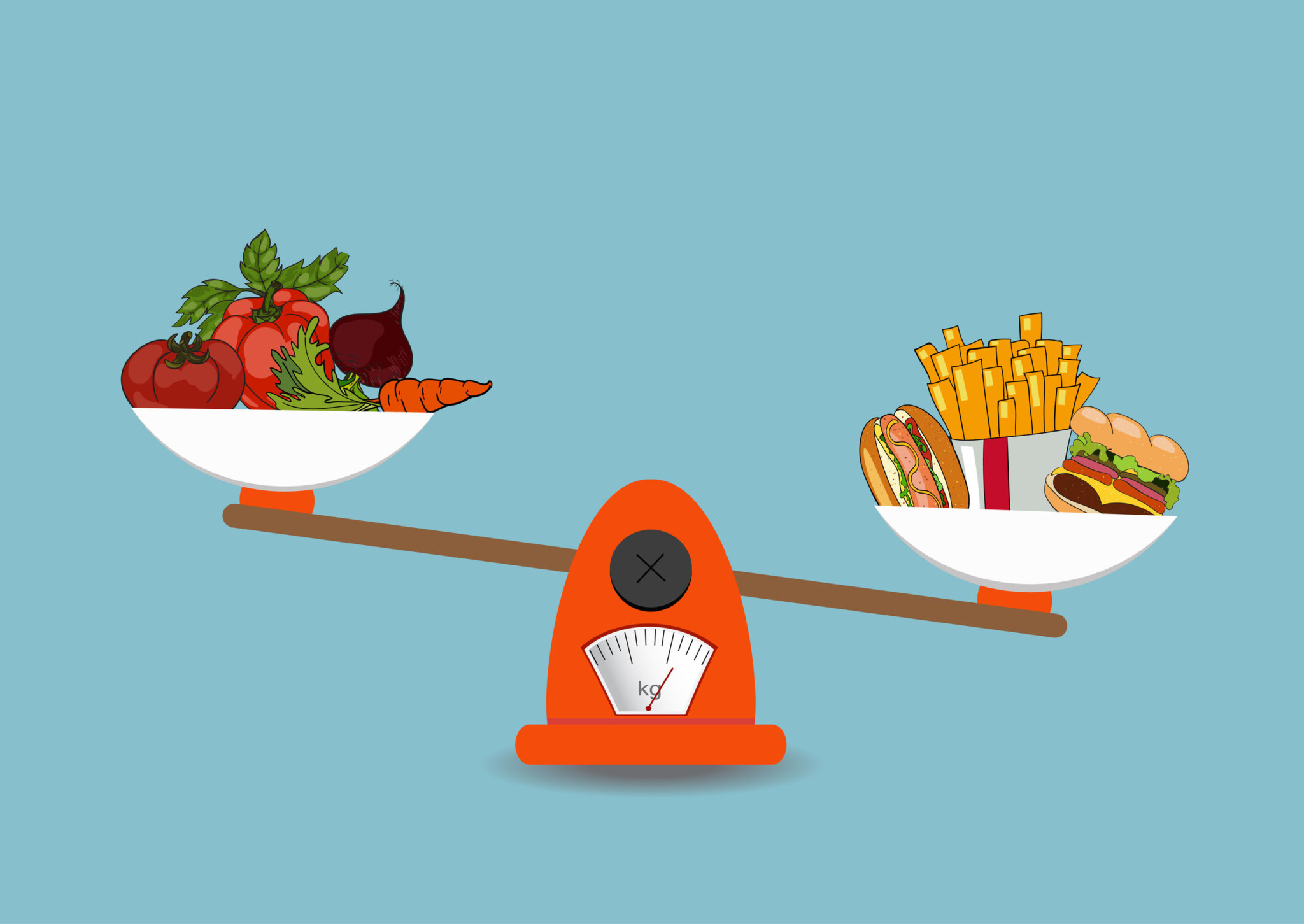 Progression de la perte de poids sur 4 semaines