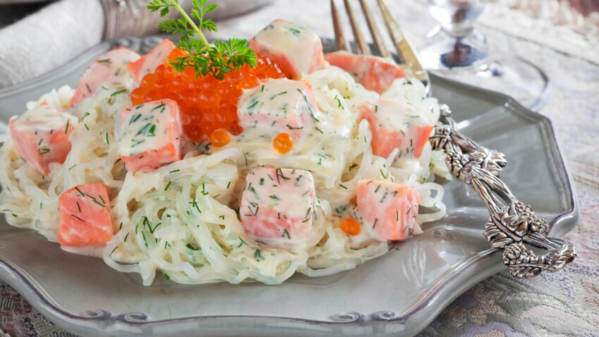 Combien de calories dans les nouilles shirataki ?