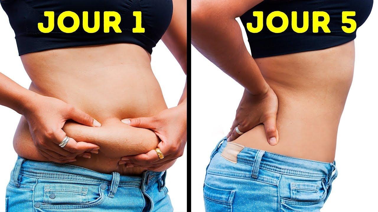 perte de graisse en 5 jours façons de mincir les bras