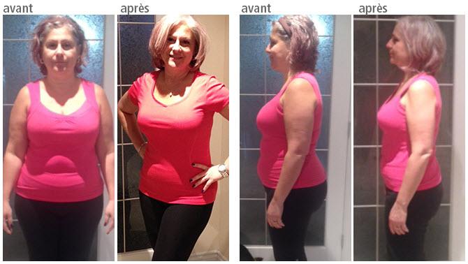 Résultats de perte de poids de 30 lb
