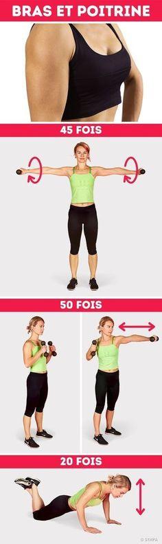 10 exercices pour maigrir des bras | Fourchette & Bikini