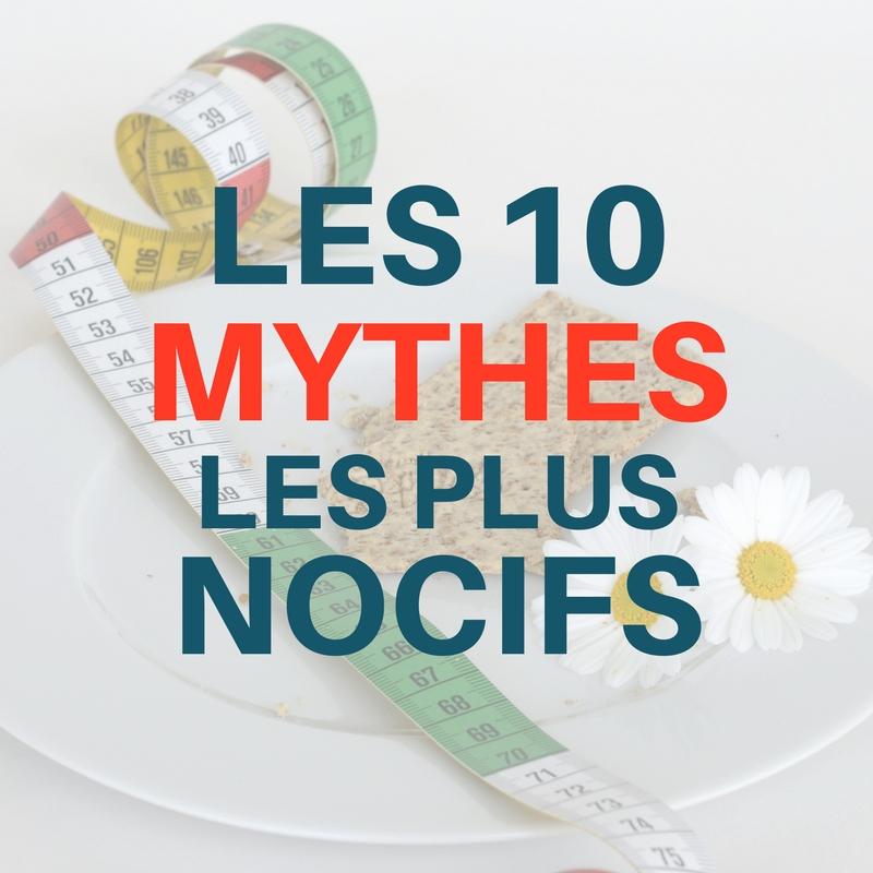 dix principaux mythes sur la perte de poids perte de poids et psa élevé
