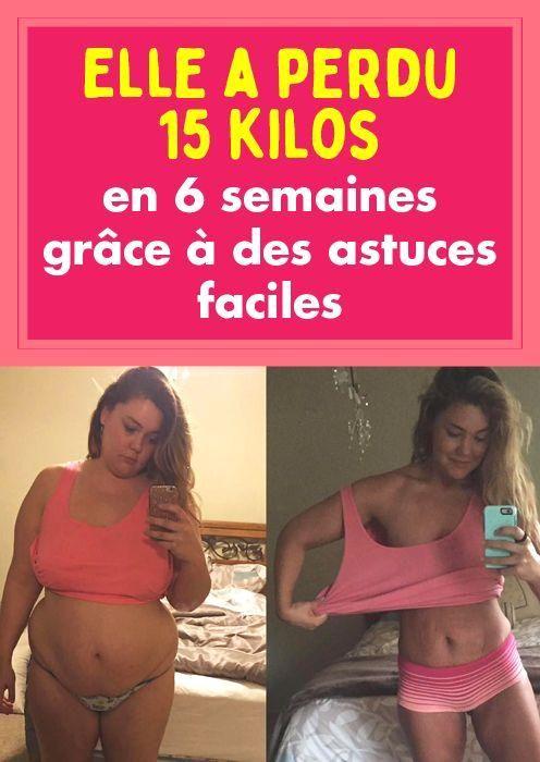 Objectif de perte de poids sur 6 semaines