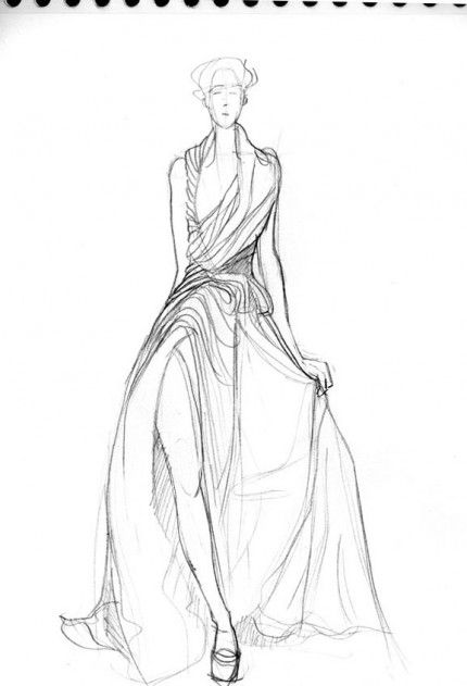 dessins de robe minceur