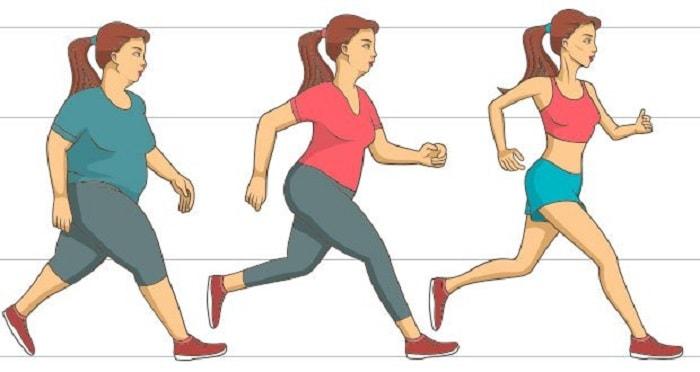 km de perte de poids