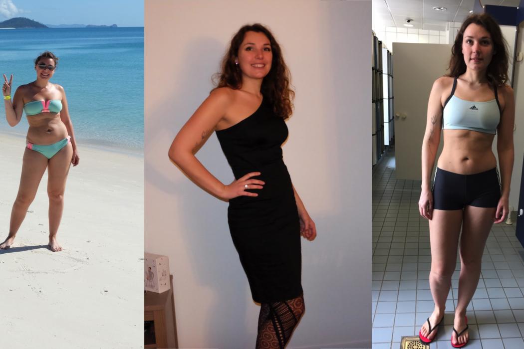 15 lb de perte de poids avant et après