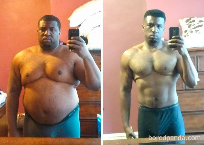 avant et après la perte de poids masculin comment perdre du poids en sprint