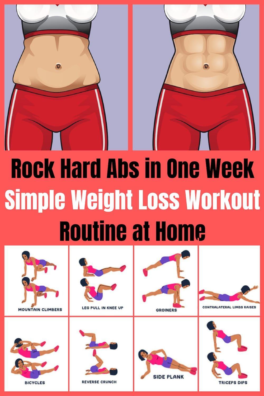 meilleures routines pour perdre de la graisse