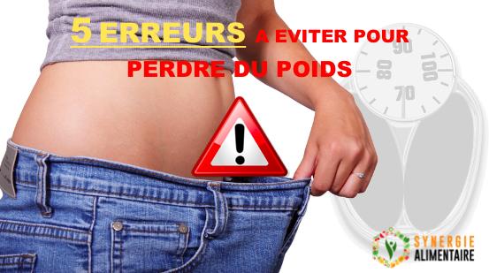 erreurs de perte de poids santé des femmes comment perdre du poids après les règles