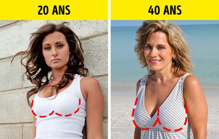 la perte de poids vous fait-elle paraître plus âgée