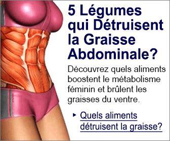 moyens faciles de perdre rapidement de la graisse abdominale