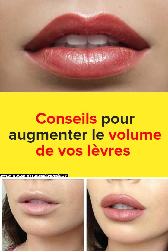 Comment mincir les lèvres, la gymnastique faciale...